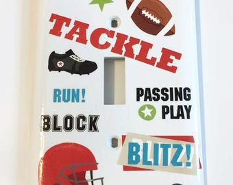 Are You Ready for Some Football, Tackle, Blitz, Football, Helmet, Block, Man Cave Gift