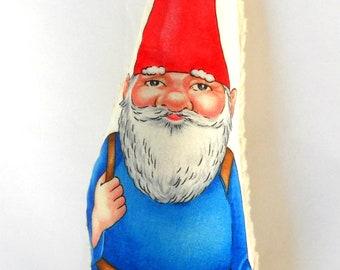 Gnome, Elf, Eco Friendly  All Natural, Eco Kids Toy, Santa, Stocking Stuffer READY TO SHIP