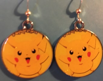 Pikachu Pokemon Earrings    B57