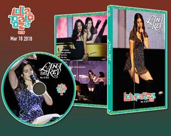 Lana del Rey DVD ARTWORK - Chile Lollapalooza - La to the Moon