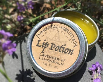 Pour les lèvres, Potion - lavande & lemon balm baume à lèvres