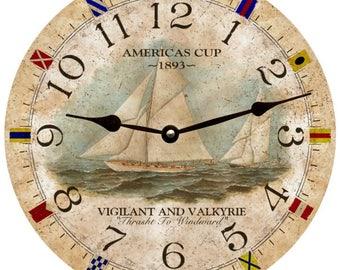 Nautical Ship Wall Clock