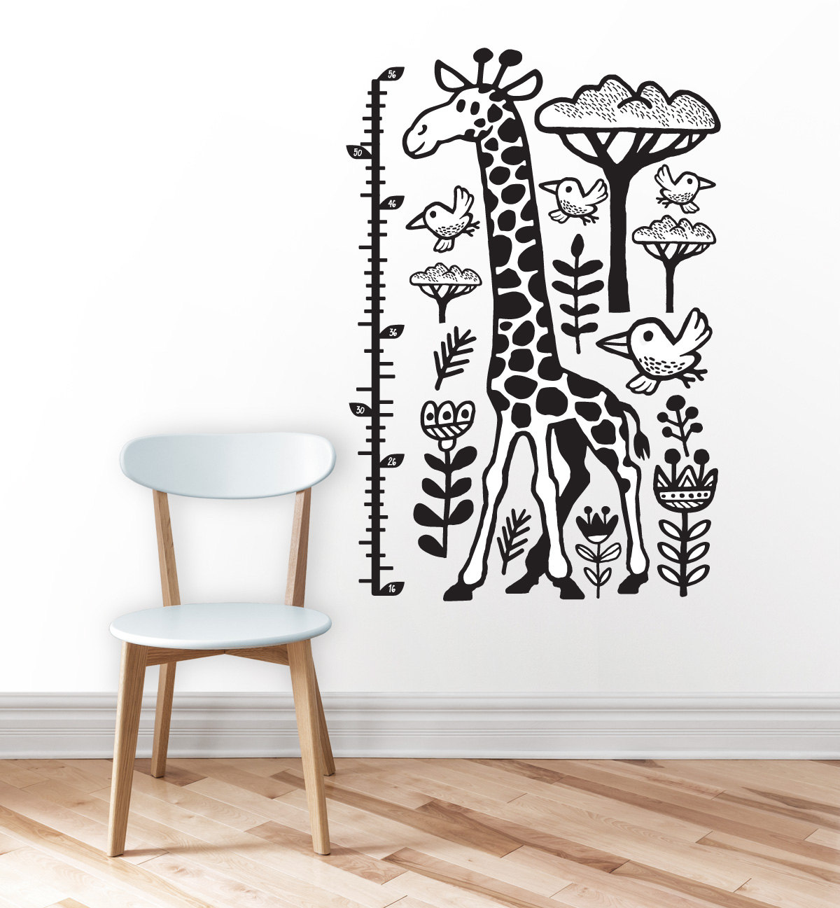 Growth chart height chart kids growth chart giraffe wall zoom geenschuldenfo Image collections