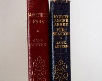 Vintage Jane Austen Novels Mansfield Park Northanger Abbey Persuasion 1950's