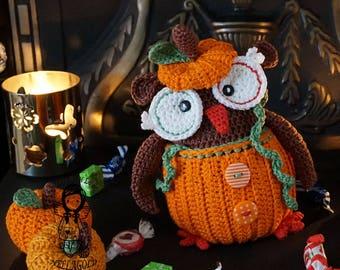 Crochet PATTERN, Collectors item 06 Halloween Owl, Toy, Crochet amigurumi pattern, Home Decor, Halloween, DIY Pattern 35