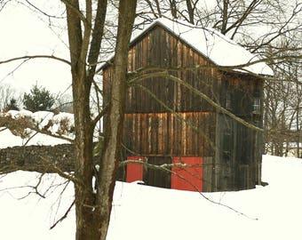 Winter Barn - Sugarloaf, NY