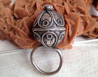 ancienne bague berbère,ethniques bague,vintage bague, tribal bague,boho,old moroccain ring