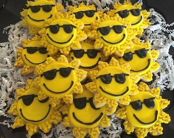 You are my sunshine cookie party favors