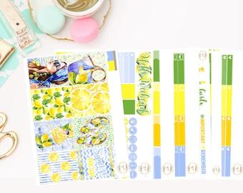 Lemonade Deluxe Kit, planner stickers