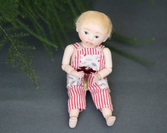 Miniature 1/12, bjd, porcelain doll by Ketrin Guv.