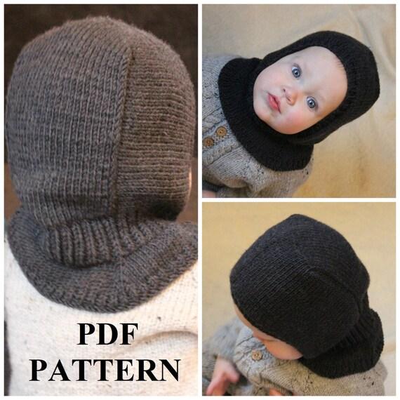 Knitting Pdf Pattern Balaclava Pattern Balaclava Pdf Hat Knitting