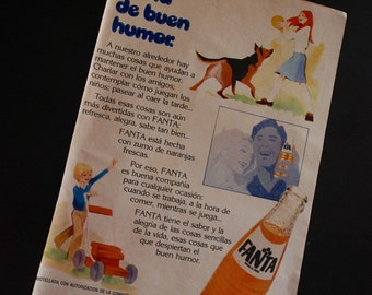 Vintage ads from 1971 - Fanta - Retro ads - Spain