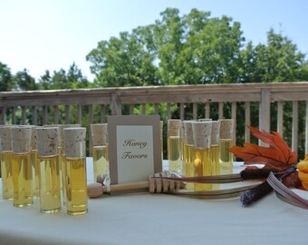 Honey Favors in Cork Vials, Perfect For Wine Events,100pcs, Winery Wedding
