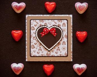 Sweet as Chocolate greeting card