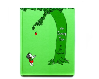 The Giving Tree | by Shel Silverstein | 1964 | Harper & Row | Hardcover | Vintage Children's Book