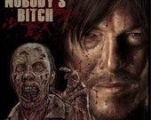 Daryl Walking Dead  - A3 ...