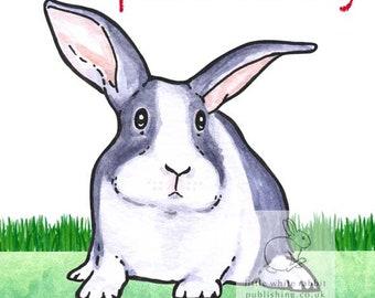 Hector the Rabbit - Special Mummy Birthday Card