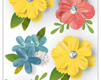 Pebbles Dimensional Flowers