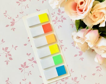 Hema Sticky Bookmarks Rainbow HSN13
