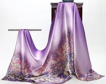 Romaric purple silky and soft great for Wedding and special occasions
