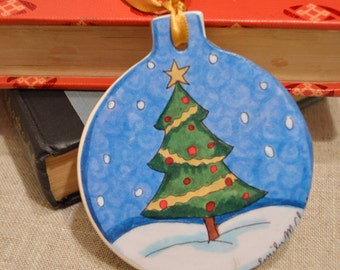Little Tree Christmas Ornament