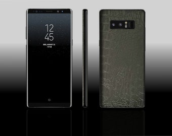 Samsung Galaxy Note 8 Crocodile Skin Decal