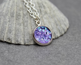 austrian silver necklace micropave for sterling shop pendant necklaces crystal unique follow design women purple