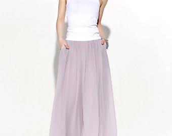 Chiffon pants, Palazzo Pants, long culotte, woman palazzo pants, plus size pants, wide leg pants, bridesmaid pant, chiffon palazzo pant C114