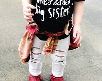 Big sister to be - Future big sister - Big sister reveal - Big sister announcement - New big sister shirt - Sister shirt - New arrival sis