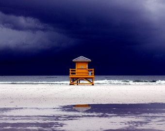 Storm on Siesta Beach, Florida Photograph