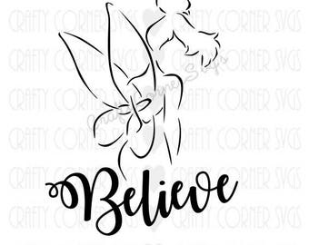 Tinkerbell quote etsy tinkerbell quote pixie dust faith trust peter pan disney inspired voltagebd