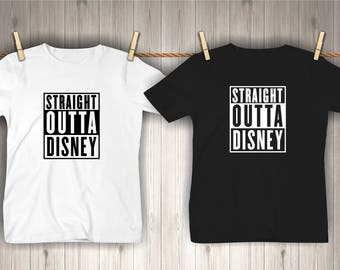 Disney shirts   Straight Outta Disney   Disney Family Shirts   Family Vacation shirts   t-shirts