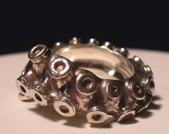 SALE - The Original Tentacle Ring, Octopus Ring, OctopusME Tentacle Ring, Tentacle Ring, Steampunk, Octopus tentacle ring, Engagement Ring