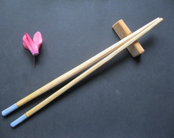 Hand made chopsticks and stand