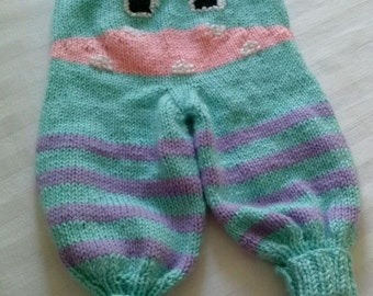 Infant Knitted Monster Pants