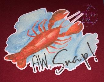 Aw Snap! Lobster Shirt
