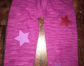 100% Cashmere Leggings Pants Longies from Repurposed Sweater - Size 18M - 3T
