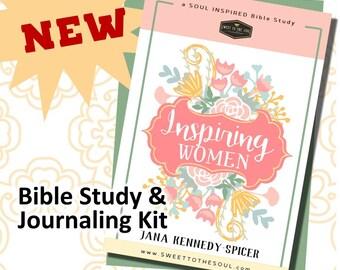 """Soul Inspired - """"Inspiring Women"""" Bible Study + Journaling KIT"""