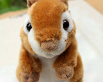 Chipmunk Stuffed Animal Plush Toy