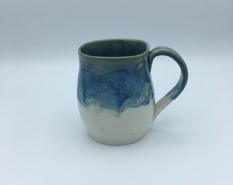 Large Pottery Mug Ceramic Coffee Mug Stoneware Mug