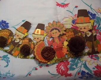 hallmark paper ephemera thanksgiving decorations