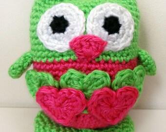 Lovable Owl - PDF Crochet Pattern - Instant Download