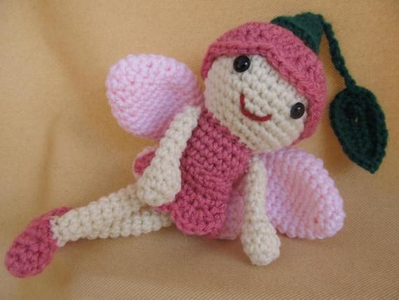 Brotar el patrón de Amigurumi Crochet de hadas