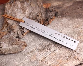 Personalized Bookmark -  Engraved Bookmark - Metal Bookmark -  Graduation Gift