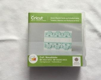 Cricut Cartridge - Anna's Flourish Cards and Embellishments  - Gently Used
