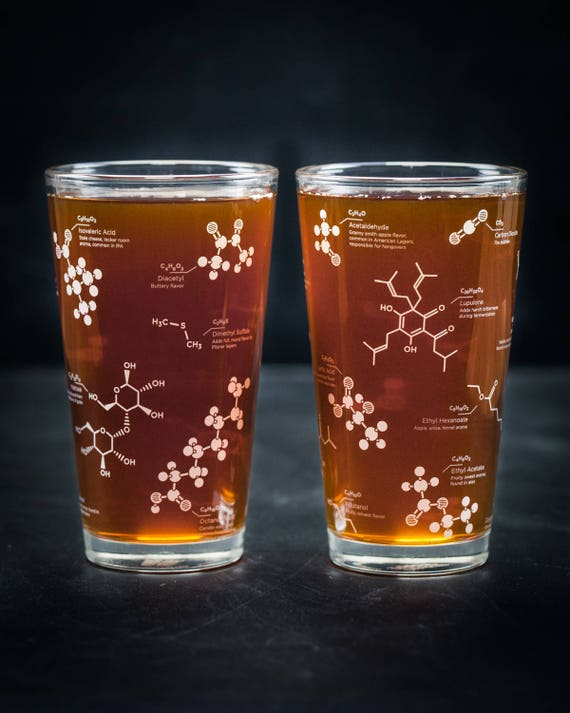 Beer Chemistry Molecules Tumblers...you had me at beer.