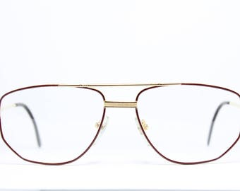 MEG Germany Original Brille Eyeglasses Occhiali Lunettes 16010R 36-26 Rund AS EYUvpUSU6