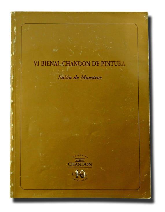VI Bienal Chandon de Pintura - Salon de Maestros 1998 Buenos Aires Art Artists Paintings Spanish Language