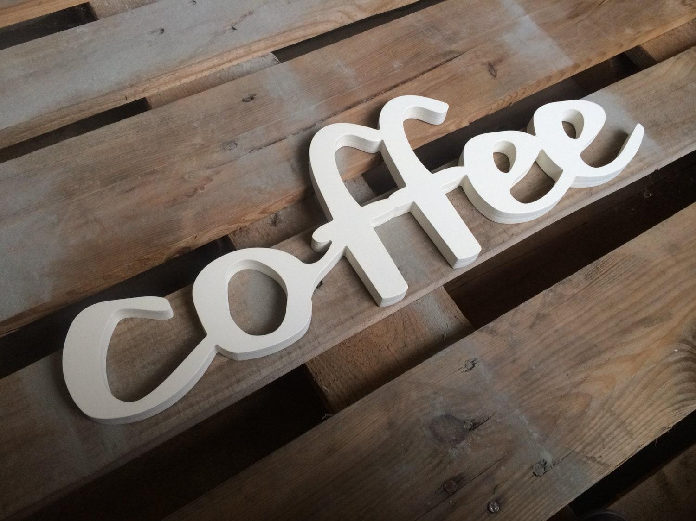 Kaffee-Zeichen Wohnkultur Büro Dekoration Geschäft Zeichen