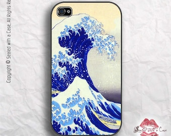 """Hokusai """"Great Wave"""" Painting - iPhone 4/4S 5/5S/5C/6/6+ and now iPhone 7 cases!! And Samsung Galaxy S3/S4/S5/S6/S7"""